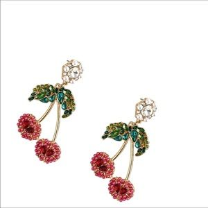 Jewelry - 🍒CHERRY EARRINGS🍒